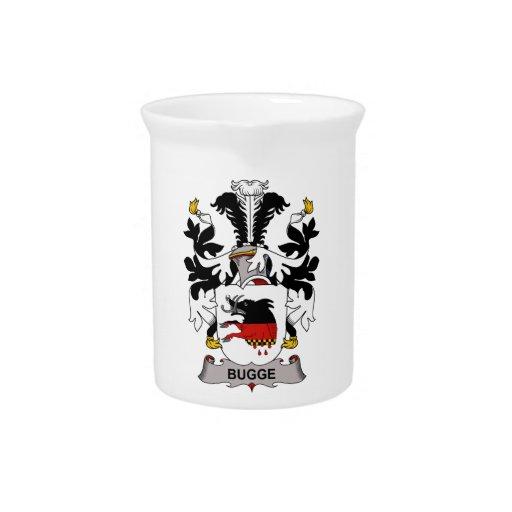 Escudo de la familia de Bugge Jarras Para Bebida