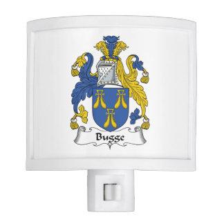 Escudo de la familia de Bugge Luces De Noche