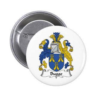 Escudo de la familia de Bugge Pin Redondo 5 Cm