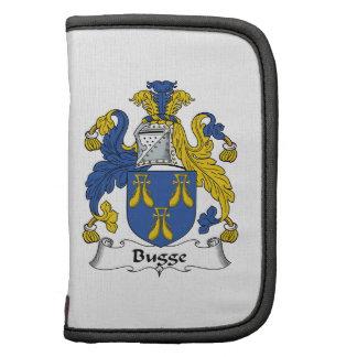 Escudo de la familia de Bugge Planificadores