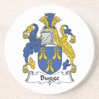 Escudo de la familia de Bugge Posavasos Cerveza
