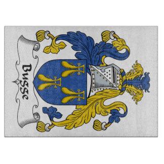 Escudo de la familia de Bugge Tabla De Cortar