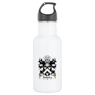 Escudo de la familia de Bulkeley Botella De Agua De Acero Inoxidable