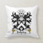 Escudo de la familia de Bulkeley Cojines