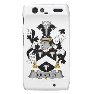 Escudo de la familia de Bulkeley Motorola Droid RAZR Fundas