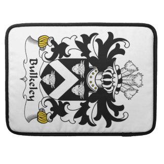 Escudo de la familia de Bulkeley Fundas Para Macbook Pro