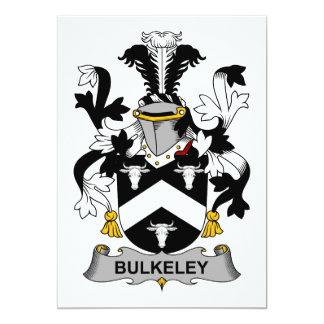 """Escudo de la familia de Bulkeley Invitación 5"""" X 7"""""""