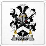 Escudo de la familia de Bulkeley Reloj