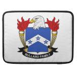 Escudo de la familia de Bullard Funda Macbook Pro