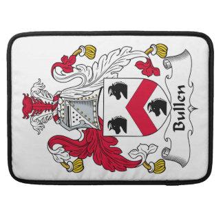 Escudo de la familia de Bullen Funda Para Macbooks