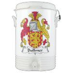 Escudo de la familia de Bullmer Vaso Enfriador Igloo