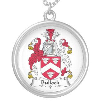 Escudo de la familia de Bullock Colgante Redondo