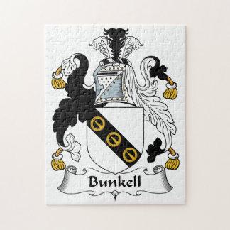 Escudo de la familia de Bunkell Puzzle
