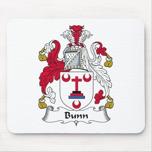 Escudo de la familia de Bunn Mouse Pad