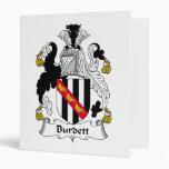Escudo de la familia de Burdett