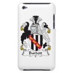Escudo de la familia de Burdett iPod Case-Mate Funda