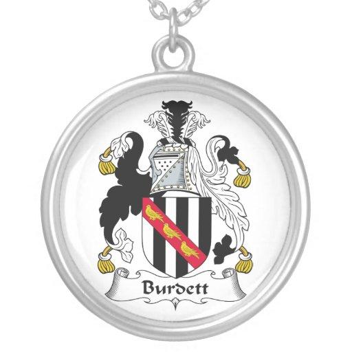 Escudo de la familia de Burdett Grimpola