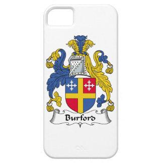 Escudo de la familia de Burford iPhone 5 Case-Mate Carcasas