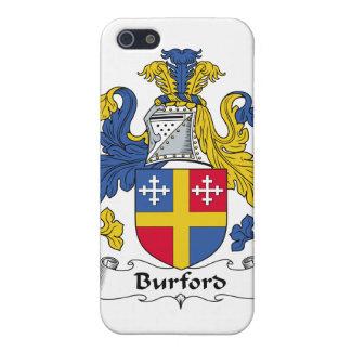 Escudo de la familia de Burford iPhone 5 Coberturas