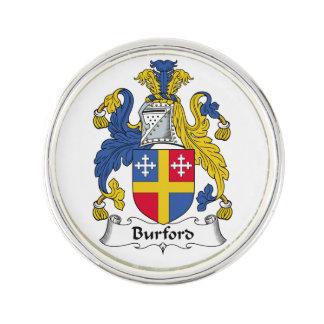 Escudo de la familia de Burford Pin