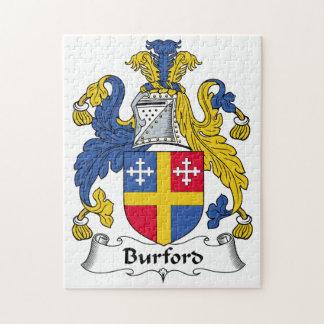 Escudo de la familia de Burford Puzzles