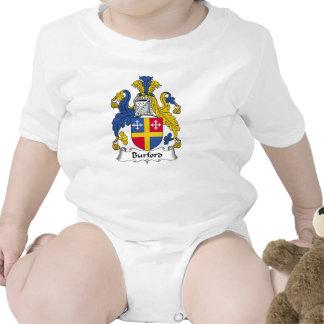 Escudo de la familia de Burford Traje De Bebé