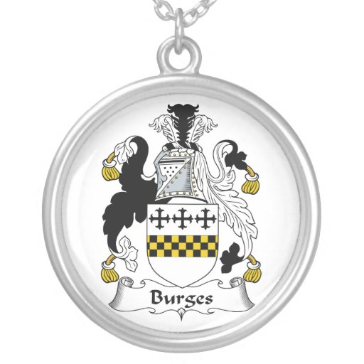 Escudo de la familia de Burges Colgantes
