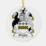 Escudo de la familia de Burges Ornamente De Reyes
