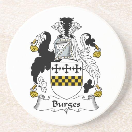 Escudo de la familia de Burges Posavasos Manualidades