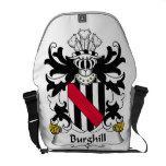 Escudo de la familia de Burghill Bolsa De Mensajeria