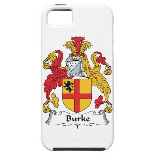 Escudo de la familia de Burke iPhone 5 Fundas