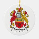 Escudo de la familia de Burroughs Adorno