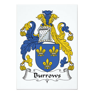 Escudo de la familia de Burrows Anuncios