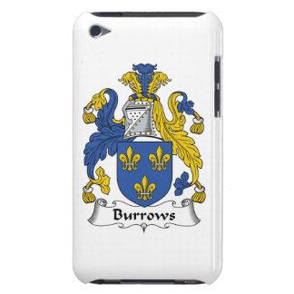 Escudo de la familia de Burrows Barely There iPod Cárcasa