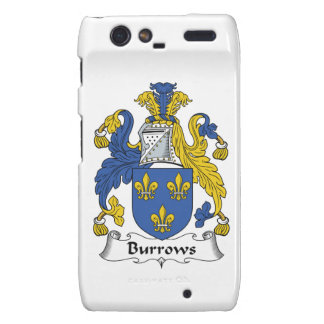 Escudo de la familia de Burrows Motorola Droid RAZR Carcasa