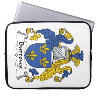 Escudo de la familia de Burrows Fundas Ordendadores