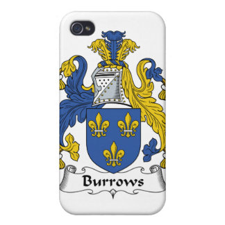 Escudo de la familia de Burrows iPhone 4/4S Carcasa