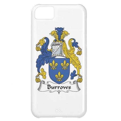 Escudo de la familia de Burrows Funda Para iPhone 5C