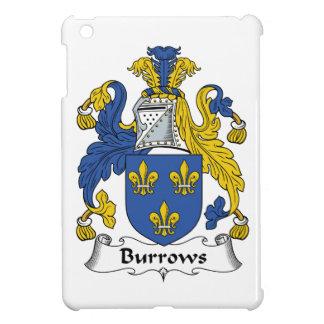 Escudo de la familia de Burrows iPad Mini Carcasas
