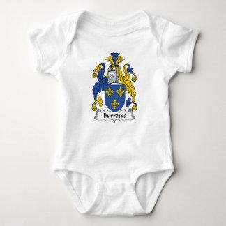 Escudo de la familia de Burrows Mameluco De Bebé