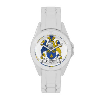 Escudo de la familia de Burrows Relojes De Mano