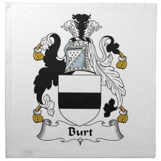 Escudo de la familia de Burt Servilleta