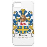 Escudo de la familia de Burtin iPhone 5 Protectores