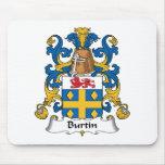 Escudo de la familia de Burtin Tapete De Ratones