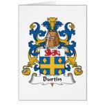 Escudo de la familia de Burtin Tarjetón