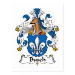 Escudo de la familia de Busch Postal