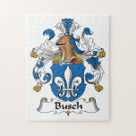 Escudo de la familia de Busch Puzzle