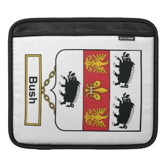 Escudo de la familia de Bush Fundas Para iPads