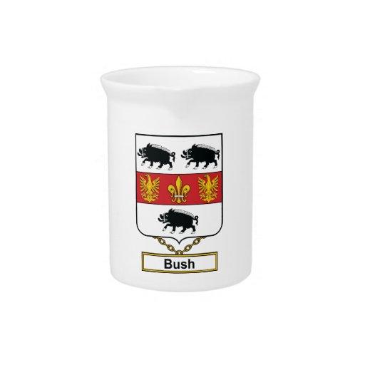 Escudo de la familia de Bush Jarras