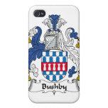 Escudo de la familia de Bushby iPhone 4 Carcasas